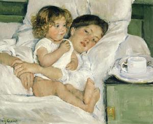 breakfastinbed Cassatt