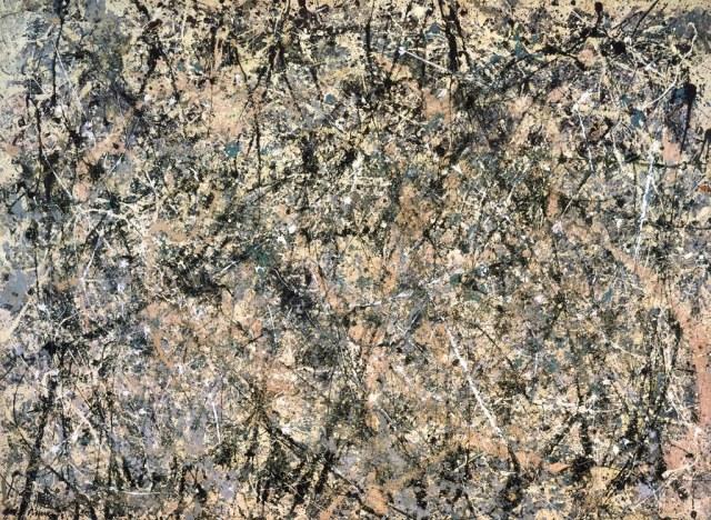 Lavender Jackson Pollock