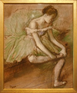 Edgar Degas, The Green Dress