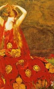 By Frank Cadogan Cowper, Pre Raphaelite