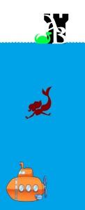 Logo AB Nessie submarine