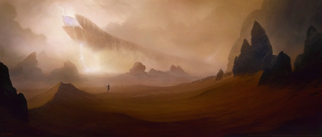 Awesome DUNE fan art by Balaskas on Deviant Art